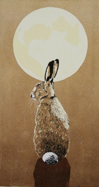 linocut by Julie North