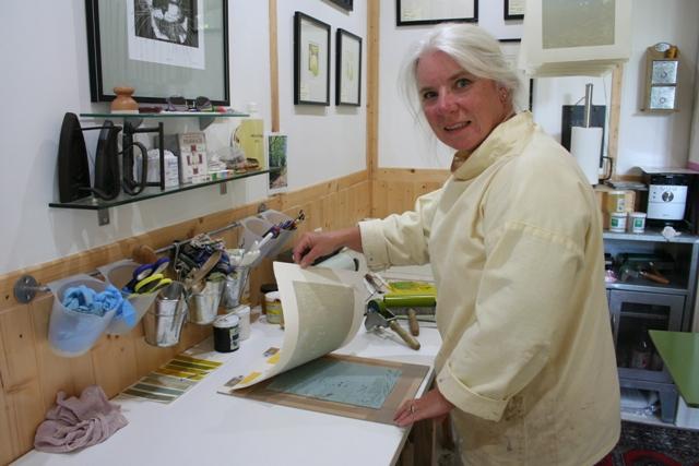 julie north printmaker France