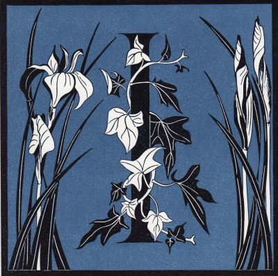Reduction linocut by Julie North